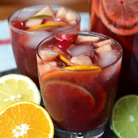 easy non alcoholic sangria punch recipe yummy food pinterest