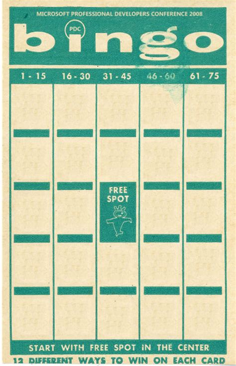 Create Your Own Bingo Card Template by Make Your Own Bingo Cards Images
