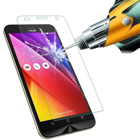 Tempered Glass Ume 9h Ultra Protection For Zenfone 3 Max premium 9h hardness tempered glass screen protector for asus zenfone max zc550kl ebay