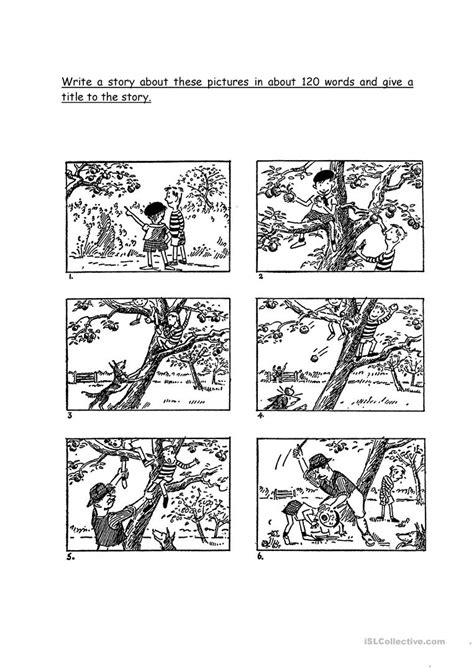 Esl Picture Stories Worksheets