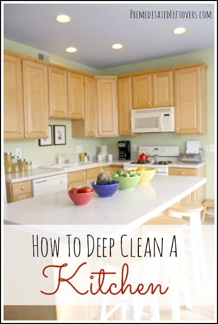 How To Deep Clean House by How To Deep Clean A Kitchen