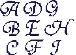 cross stitch letter patterns patterns gallery