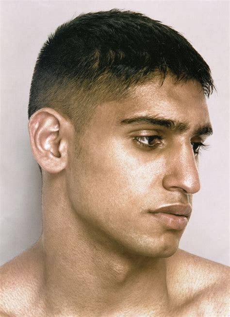 beitish haircuts men british boxer amir khan vintage haircuts pinterest