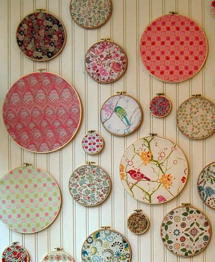 cloth crafts for how to make fabric wall arts to crafts