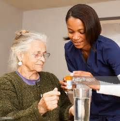 Caregiver Background Check Home Caregiver Stock Photos And Pictures Getty Images
