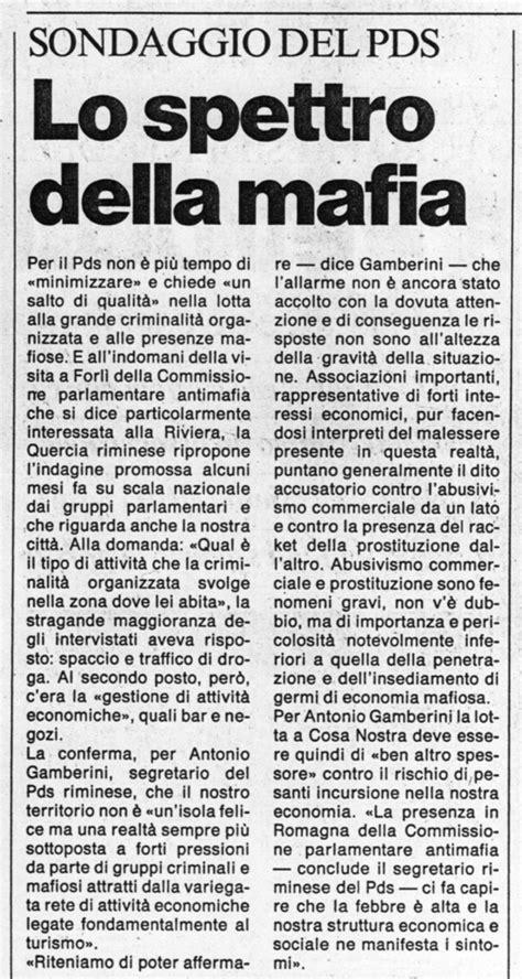 La mafia non viene in vacanza a Rimini - Riminiduepuntozero