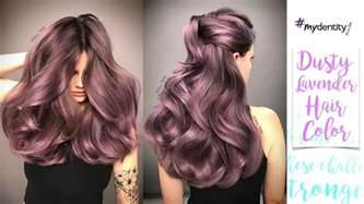 dusty hair color dusty lavender hair color