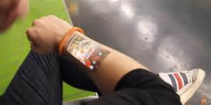 latest technews skin into a touch screen artificial electronic skin