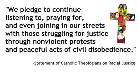 statement of catholic theologians on racial justice theologians at jesuit universities join call for racial