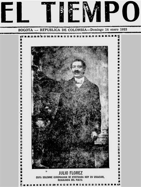 imagenes de julio florez julio fl 211 rez 1867 1923 julio fl 243 rez su coronaci 243 n