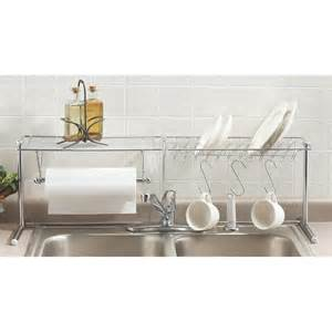 Kitchen Sink Organizer Shelf Chrome The Sink Organizer 112255 Accessories At Sportsman S Guide