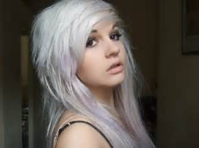 white hair color 11 wonderfully white hairstyles