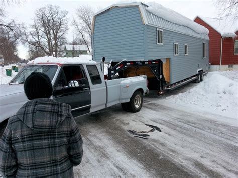 10 Tiny Houses For Sale In Wisconsin You Can Buy Now Flatbed Trailer For Tiny House