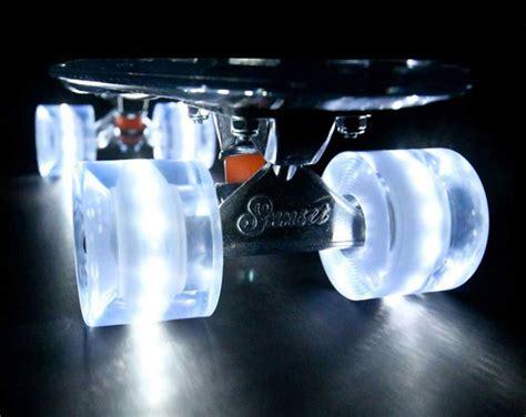 Light Up Skateboard Wheels by Sunset Skateboards Led Light Equipped Skateboard