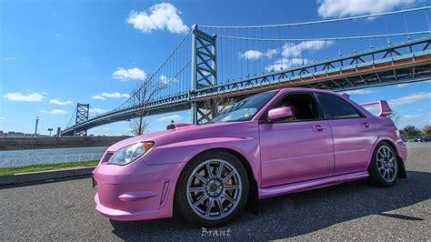 subaru pink pink subaru sti my future cars
