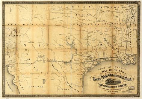 texas map 1800 texas 1860 historical
