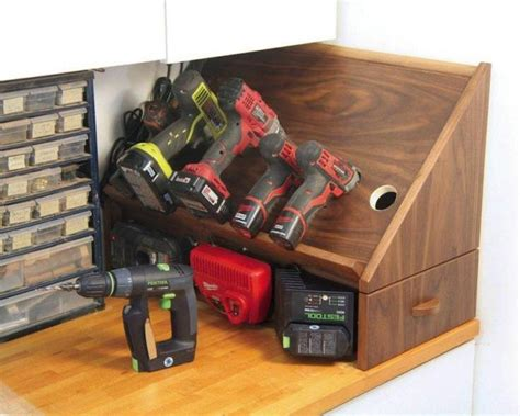 how to build a charging station build a drill charging station