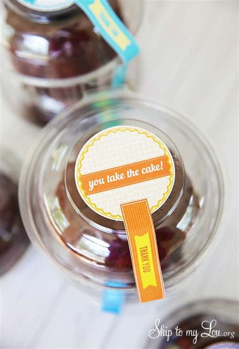 cake teacher gift idea skip   lou