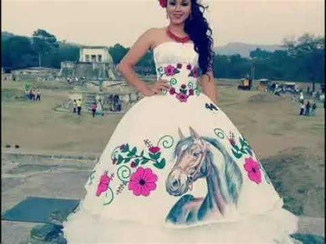 imagenes de vestidos de novia rancheros vestidos de xv a 241 os estilo ranchera con bordados youtube