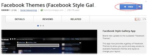 facebook themes chrome web store how to change facebook theme home page