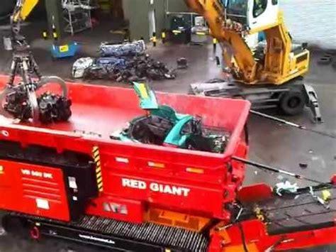 hammel 950 big red mobile car shredder kia rio w/engine