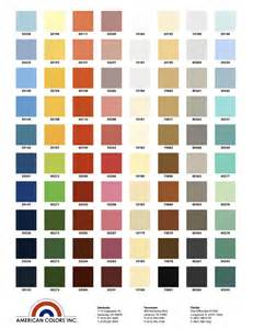 colors of chart color chart
