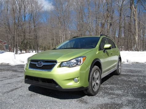 subaru crosstrek matte green 2014 subaru crosstrek hybrid gas mileage review