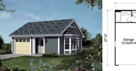small house with garage 6 floor plans for tiny homes that boast an attached garage