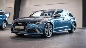 Where Are Audi Made Audi Has Made An Exclusive Rs6 Performance