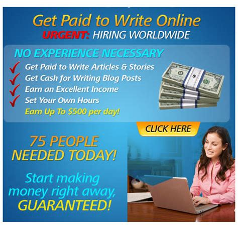 How To Make Money Writing Short Stories Online - real writing jobs earn cash make money online