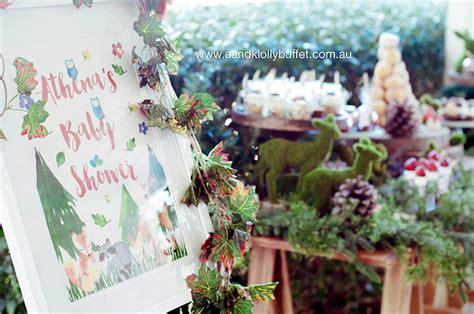 Forest Baby Shower by Kara S Ideas Woodland Forest Baby Shower Kara S