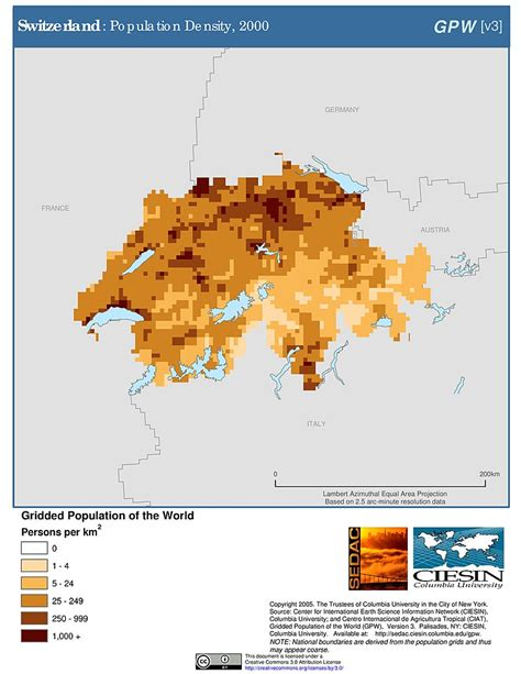 population density map of switzerland maps 187 gridded population of the world gpw v3 sedac