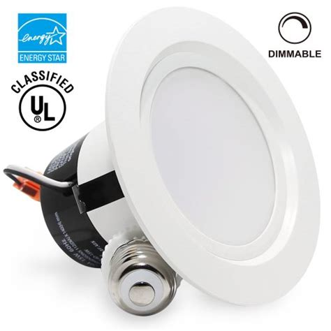 15watt 4 inch energy ul listed dimmable retrofit led
