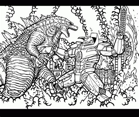 godzilla 2 coloring pages godzilla coloring page 2014 coloring home