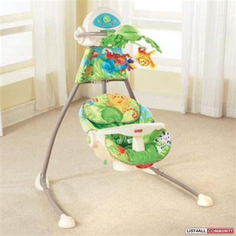 baby swing fisher price rainforest fisher price rainforest swing nicole list4all