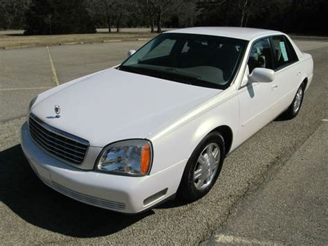 how to sell used cars 2004 cadillac deville seat position control purchase used 2004 cadillac deville base sedan 4 door 4 6 only 65k pearl white cream leather