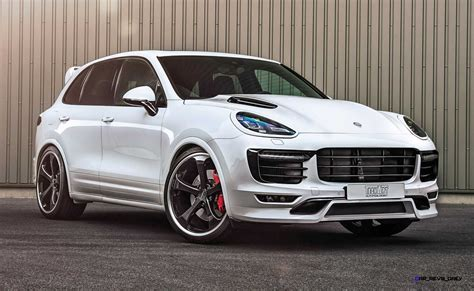 Techart Porsche Cayenne Turbo Powerkit