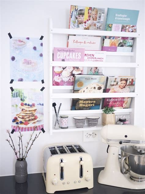 1000 ideas about cookbook shelf on white