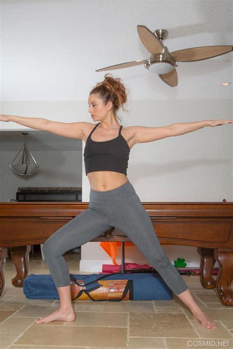 april sutton hot yoga babe