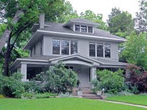 Two Story Craftsman Style House Plans american foursquare style house swiss avenue dallas