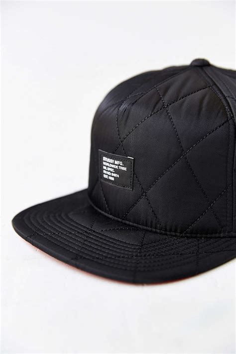 Topi Snapback Stussy 8 stussy quilted foam snapback hat style