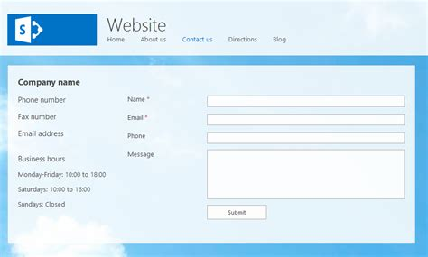 design form sharepoint sharepoint forms designer publish a form for anonymous