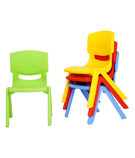 Preschool Chairs Classroom With Chairs In The Preschool Stock Photo