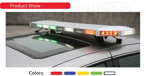 Led Light Bars For Vehicles Led Light Bars For Emergency Vehicles China Led Lightbar