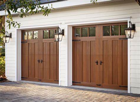 Garage Door Faux Wood Clopay Ridge Limited Edition D And D Garage Doors
