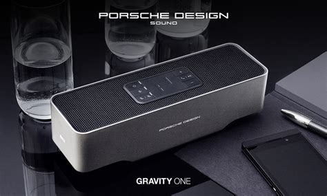 porches design kef porsche design gravity one bluetooth speaker
