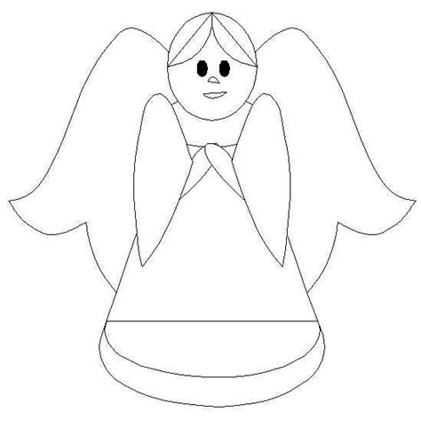 printable christmas angel ornaments free angel for kids coloring pages