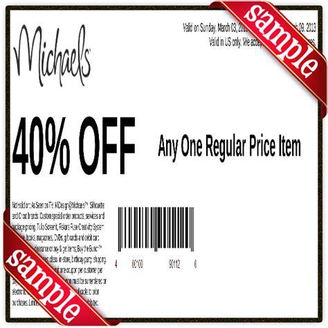 2015 printable michaels coupon 50 off free coupons may 2015 printable coupons