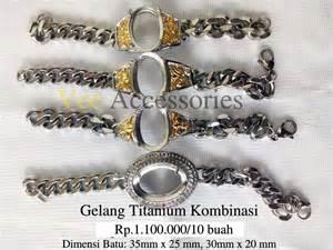 Xuping Yaxiya Gelang Dewasa G190 harga cincin titanium grosir cincin murah