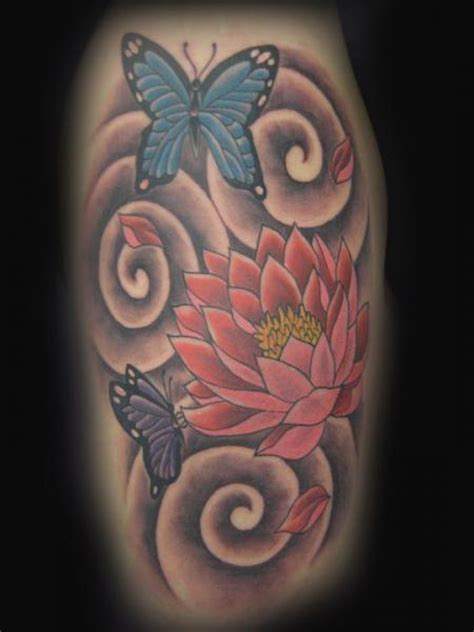 butterfly tattoo japanese flower japanese butterfly tattoo by blood line tattoos